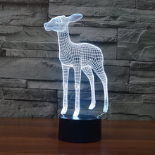 Stoic Deer 3D Optical Illusion Lamp - 3D Optical Lamp