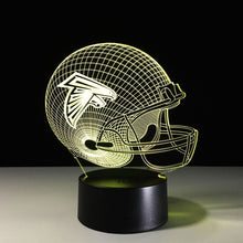 Atlanta Falcons 3D Optical Illusion Lamp - 3D Optical Lamp