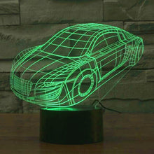 Audi Inspired R8 Vehicle Sculpture 3D Optical Illusion Lamp - 3D Optical Lamp