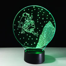 Leo Horoscope 3D Optical Illusion Lamp - 3D Optical Lamp