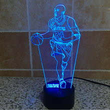 Basketball KB-24 Statue 3D Optical Illusion Lamp - 3D Optical Lamp