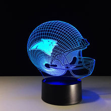 Carolina Panthers 3D Optical Illusion Lamp - 3D Optical Lamp