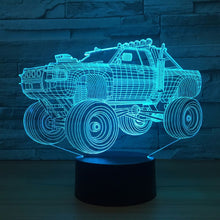 Off Road Vehicle 3D Optical Illusion Lamp - 3D Optical Lamp