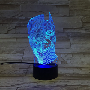 Double Man 3D Optical Illusion Lamp - 3D Optical Lamp