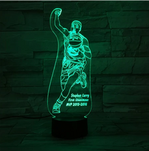 Kobe Shot 3D Optical Illusion Lamp - 3D Optical Lamp