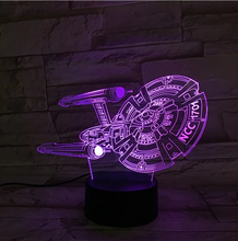 Star Trek 1707 3D Optical Illusion Lamp - 3D Optical Lamp