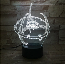 Star Wars Millennium Falcon 3D Nightlight - 3D Optical Lamp