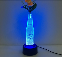 3D Drink Vase Flower Arrangement Stereo Lamp - 3D Optical Lamp