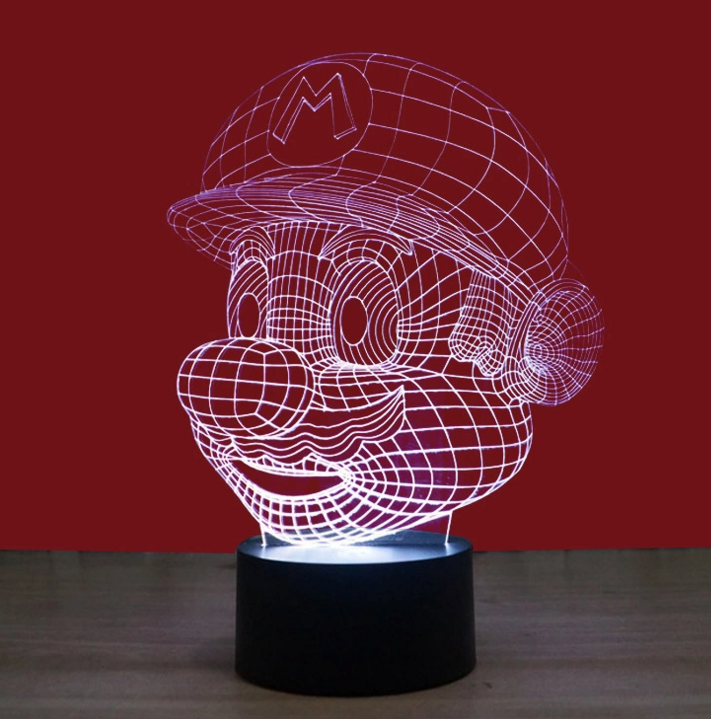 3D Optical Lamp