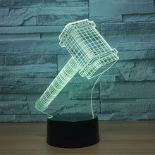 Marvel Inspired Quake 3D Optical Illusion Lamp - 3D Optical Lamp