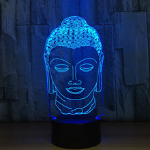 Sakyamuni Buddaha 3D Optical Illusion Lamp - 3D Optical Lamp