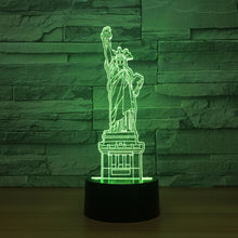 Status of liberty 3D Optical Illusion Lamp - 3D Optical Lamp