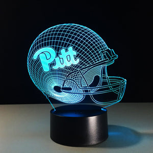Pitt 3D Optical Illusion Lamp - 3D Optical Lamp