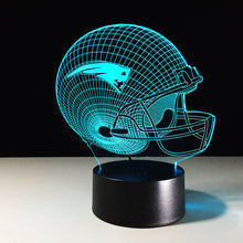 New England Patriots 3D Optical Illusion Lamp - 3D Optical Lamp
