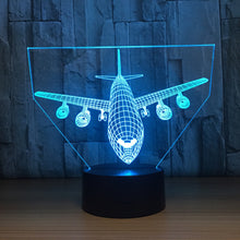 Big Plane 3D Optical Illusion Lamp - 3D Optical Lamp