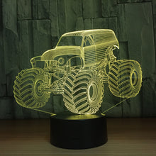 Go-anywhere Vehicle 3D Optical Illusion Lamp - 3D Optical Lamp