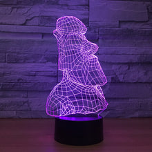 Golem Stone Man 3D Optical Illusion Lamp - 3D Optical Lamp