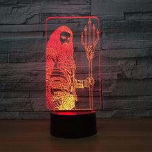 Marvel Inspired Thor 3D Optical Illusion Lamp - 3D Optical Lamp