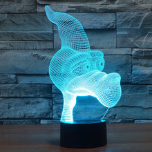 Cartoon Pterosaur 3D Optical Illusion Lamp#2 - 3D Optical Lamp