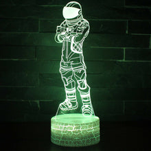 Action FIgure 6 3D Optical Illusion Lamp - 3D Optical Lamp