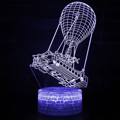Fortnight Car 3D Optical Illusion Lamp - 3D Optical Lamp