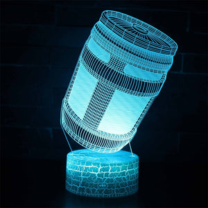 Fortnight Game Accessories 3D Optical Illusion Lamp - 3D Optical Lamp