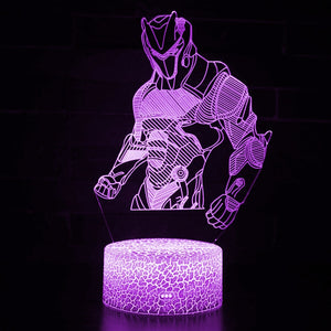 Action Figure 3 Fortnight 3D Optical Illusion Lamp - 3D Optical Lamp