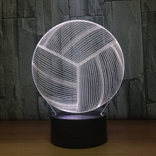 Volleyball 3D Optical Illusion Lamp - 3D Optical Lamp