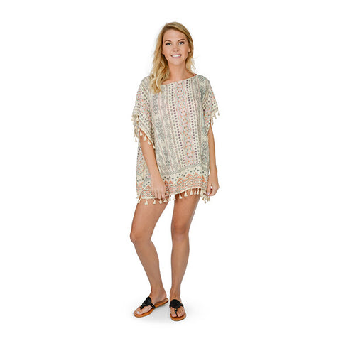 Evans Tunic with Tassels