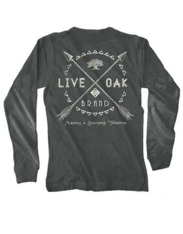 Live Oak Brand-LS Arrows-Pepper