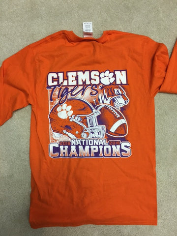 Clemson Champion Helmet Long Sleeve