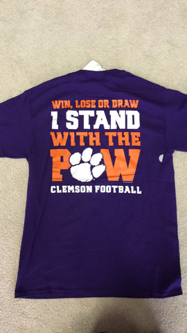 Clemson-All About the Paw-SS