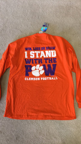 Clemson-All About the Paw-LS