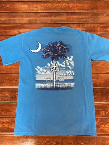 Cotton Shop-Blue SC Palmetto-Comfort Color