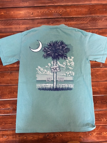 Cotton Shop-Green SC Palmetto-Comfort Color