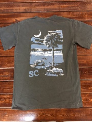 Cotton Shop-Gray Turtle-Comfort Color