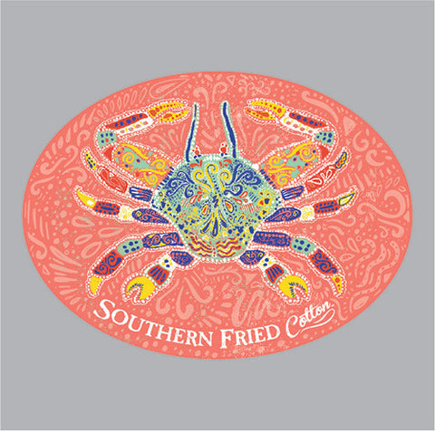 SoFriCo-Southern Folk Crab Decal