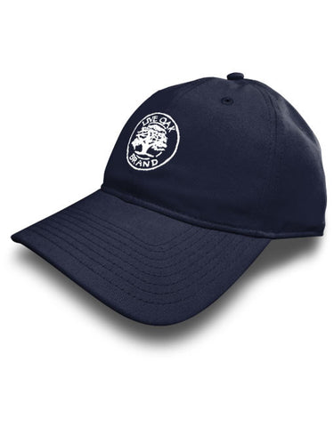 Live Oak Brand-Solid Twill Hat-Navy