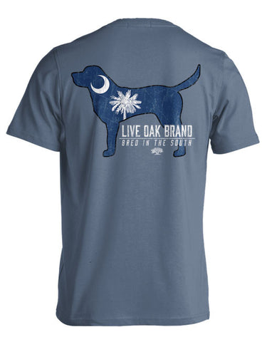 Live Oak Brand-SC Dog SS-Blue Jean