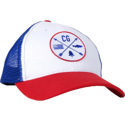 CG-Trail Blazer Trucker-Red/White/Blue