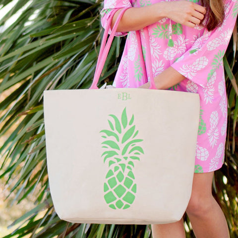 Pineapple Canvas Tote