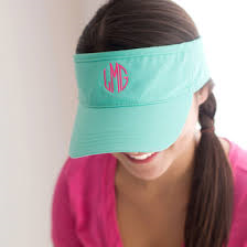 Light Mint Twill Visor