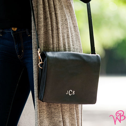 Black Palmer Crossbody