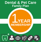 Family Dental & Pet Care 1yr. Plan