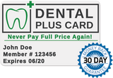 Family Dental 1yr. Plan