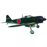 "A6M5 Zero Fighter Model 52 93"" all composite ARF By TopRCModel"