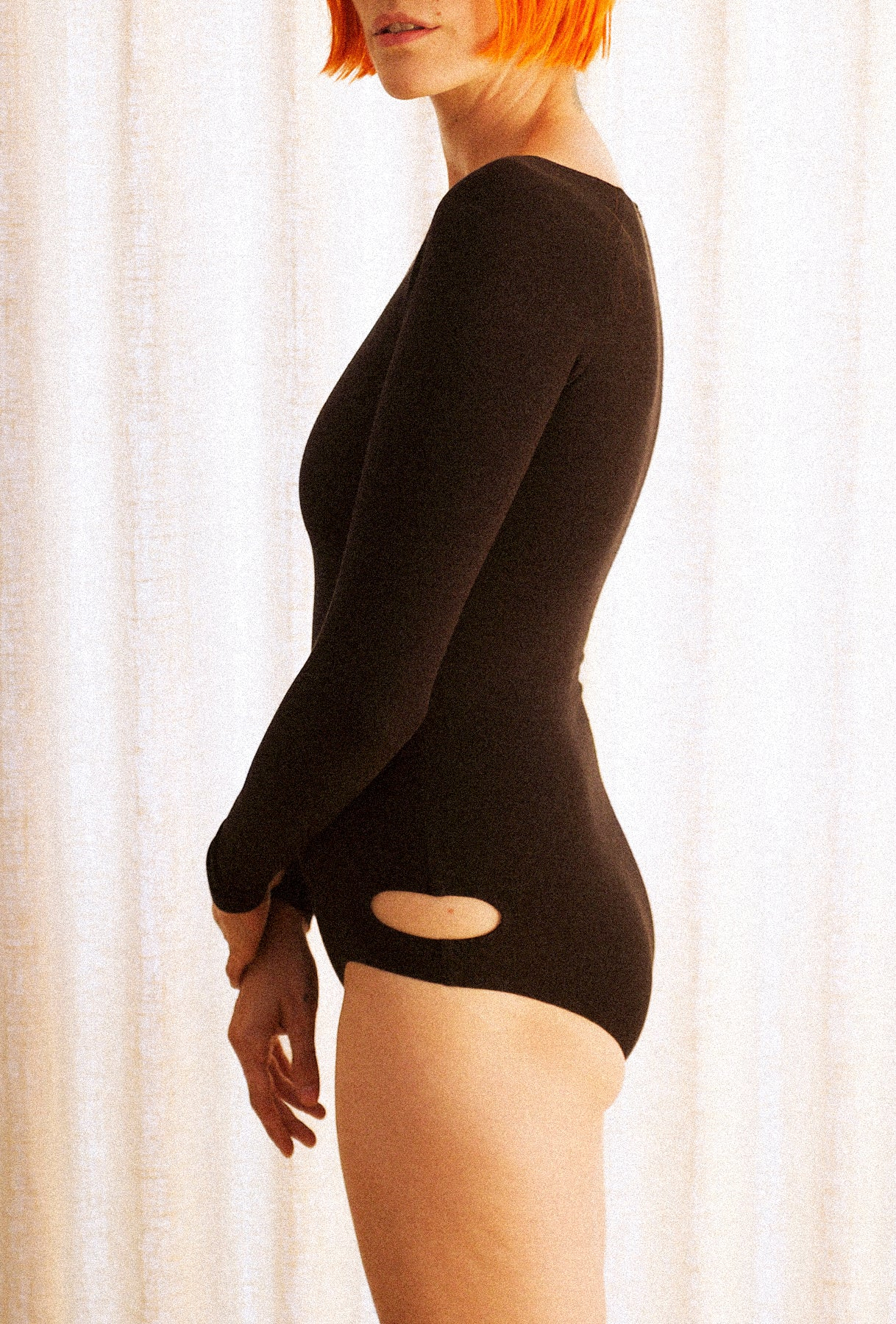 Long Sleeve Clean Cut Bodysuit