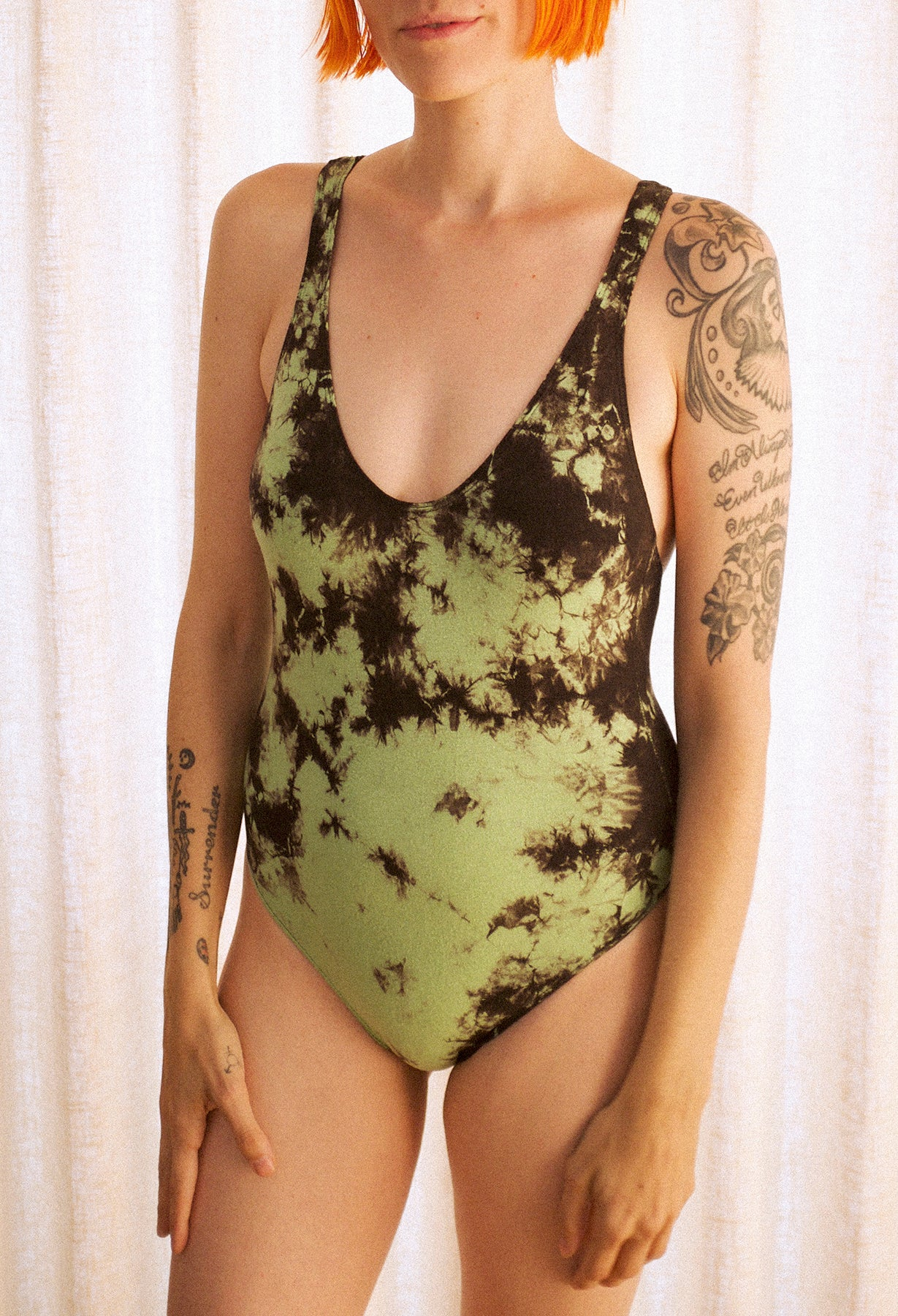 Rebel Green Swimsuit
