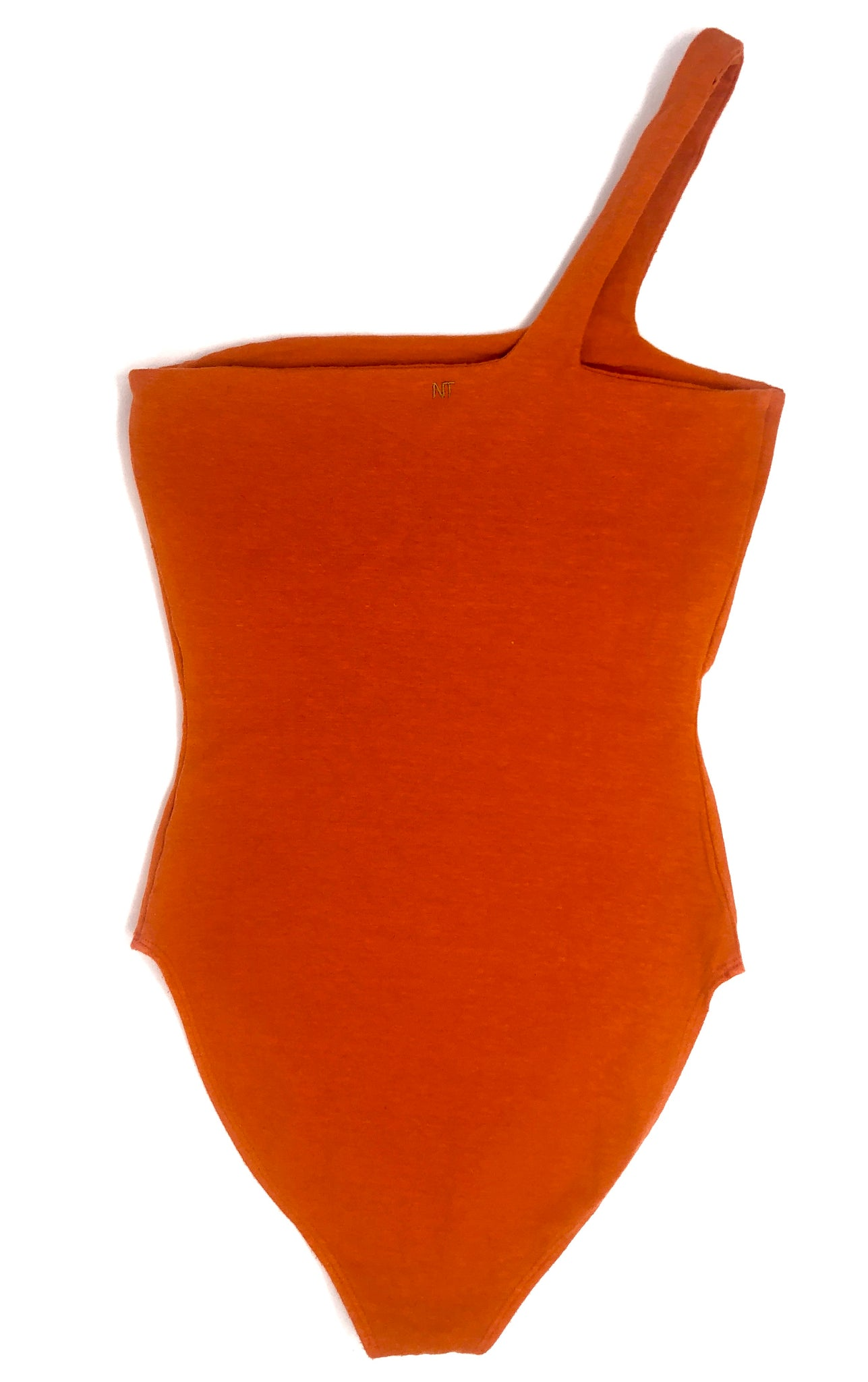 HOT SHOULDER, BURNT ORANGE