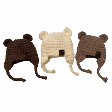 Load image into Gallery viewer, Handmade Teddy Bear Hat